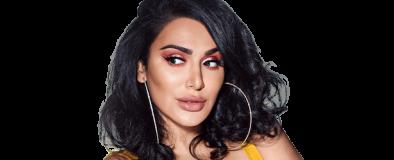 Huda Kattan, creadora de la marca Huda Beauty