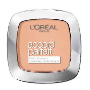 Polvo compacto unificante y perfeccionador de Accord Parfait de L'Oréal